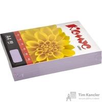 Бумага цветная для офисной техники Комус Color лиловая интенсив (А4, 80 г/кв.м, 500 листов)