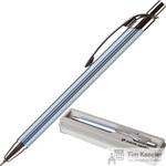 Ручка шариковая Pierre Cardin Actuel цвет чернил синий цвет корпуса серебристый (артикул производителя PC0505BP)