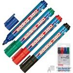 Набор маркеров для флипчартов Edding E-380 4 штуки (толщина линии 2.2 мм)