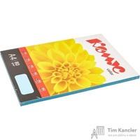 Бумага цветная для офисной техники Комус Color океан пастель (А4, 80 г/кв.м, 100 листов)