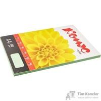Бумага цветная для офисной техники Комус Color лагуна пастель (А4, 80 г/кв.м, 100 листов)