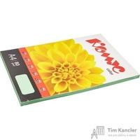 Бумага цветная для офисной техники Комус Color зеленая пастель (А4, 80 г/кв.м, 100 листов)