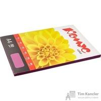 Бумага цветная для офисной техники Комус Color ежевика интенсив (А4, 80 г/кв.м, 100 листов)