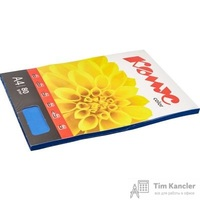 Бумага цветная для офисной техники Комус Color кобальт интенсив (А4, 80 г/кв.м, 100 листов)