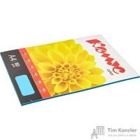 Бумага цветная для офисной техники Комус Color голубая интенсив (А4, 80 г/кв.м, 50 листов)