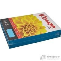 Бумага цветная для офисной техники Комус Color голубая интенсив (А4, 80 г/кв.м, 500 листов)