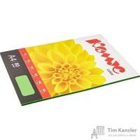 Бумага цветная для офисной техники Комус Color зеленая интенсив (А4, 80 г/кв.м, 50 листов)