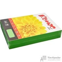 Бумага цветная для офисной техники Комус Color зеленая интенсив (А4, 80 г/кв.м, 500 листов)