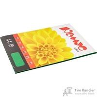 Бумага цветная для офисной техники Комус Color изумруд интенсив (А4, 80 г/кв.м, 50 листов)