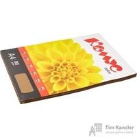 Бумага цветная для офисной техники Комус Color шоколад интенсив (А4, 80 г/кв.м, 100 листов)