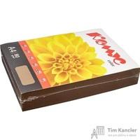Бумага цветная для офисной техники Комус Color шоколад интенсив (А4, 80 г/кв.м, 500 листов)
