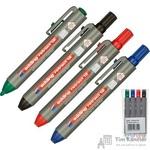 Набор маркеров для досок Edding Retract 4 цвета (толщина линии 1.5-3 мм)