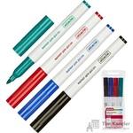 Набор маркеров для досок Attache 4 цвета (толщина линии 1-3 мм)