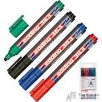 Набор маркеров для досок Edding 363/4S 4 цвета (толщина линии 1-5 мм)