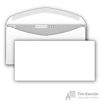 Конверт почтовый OfficePost E65 (110x220 мм) белый с клеем (1000 штук в упаковке)