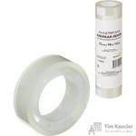 Клейкая лента канцелярская прозрачная 12 мм x 10 м (12 штук в упаковке)