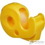 Диспенсер Attache Classic для клейкой ленты желтый с лентой 15 мм x 10 м