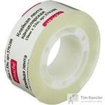 Клейкая лента канцелярская Attache прозрачная 19 мм х 33 м (пластиковая втулка)