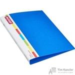 Папка на 4-х кольцах Attache А4 пластиковая 32 мм синяя