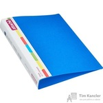 Папка на 4-х кольцах Attache пластиковая 42 мм синяя