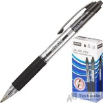 Ручка шариковая масляная автоматическая Attache Selection Air черная (толщина линии 0.7 мм)