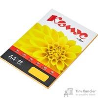 Бумага цветная для офисной техники Комус Color оранжевый интенсив (А4, 80 г/кв.м, 50 листов)