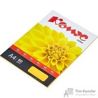 Бумага цветная для офисной техники Комус Color оранжевый интенсив (А4, 80 г/кв.м, 100 листов)