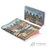 Комплект Eshemoda Амстердам 2 (обложка на паспорт + визитница) из натуральной кожи цветной (56034000)