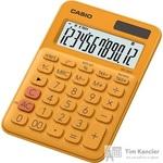 Калькулятор настольный Casio MS-20UC-RD 12-разрядный оранжевый