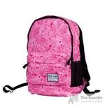 Рюкзак женский Polar 15008 из полиэстера розового цвета