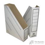 Вертикальный накопитель Attache картонный белый ширина 75 мм (2 штуки в упаковке)