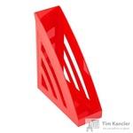 Вертикальный накопитель Attache Триколор пластиковый красный ширина 90 мм