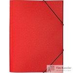Папка-короб на резинке Attache Confidence A4 пластиковая красная (0.8 мм, до 150 листов)