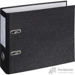 Папка-регистратор Attache формат А5 горизонтальная 75 мм мрамор черная