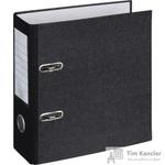 Папка-регистратор Attache формат А5 вертикальная 75 мм мрамор черная