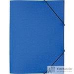 Папка на резинке Attache Confidence A4 пластиковая синяя (0.5 мм, до 220 листов)