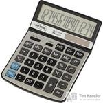 Калькулятор настольный Attache CA-1217T 14-разрядный серый (регулировка наклона дисплея)
