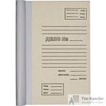 Папка архивная для переплета А4 из картона/бумвинила бурая 100 мм (складная, до 1000 листов)