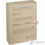 Короб архивный Attache картон бурый 240х80х330 мм