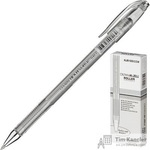 Ручка гелевая Crown серебристая (толщина линии 0.7 мм)