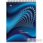 Блокнот Stenography А5 60 листов в клетку на спирали (145х203 мм)