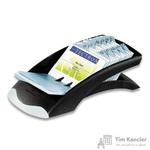 Картотека Durable Visifix Desk на 200 визиток черная/серебристая