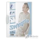 Папка для брошюровки Durable Swingclip с белым клипом А4 (до 30 листов)