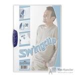 Папка для брошюровки Durable Swingclip с синим клипом А4 (до 30 листов)