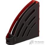Вертикальный накопитель Attache Selection пластиковый черный ширина 94 мм