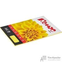 Бумага цветная для офисной техники Комус Color лимон интенсив (А4, 80 г/кв.м, 50 листов)