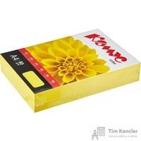 Бумага цветная для офисной техники Комус Color лимон интенсив (А4, 80 г/кв.м, 500 листов)