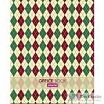 Блокнот Attache Scotland А6 80 листов цветной в клетку на сшивке (108x146 мм)