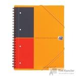 Бизнес-тетрадь Oxford Meetingbook А4+ 80 листов цветная в линейку на спирали (240x310 мм)