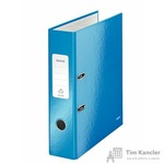 Папка-регистратор Leitz 80 мм голубая